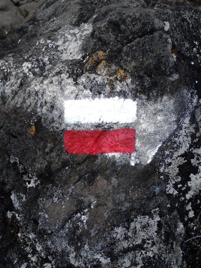 GRR1 symbol on a rock